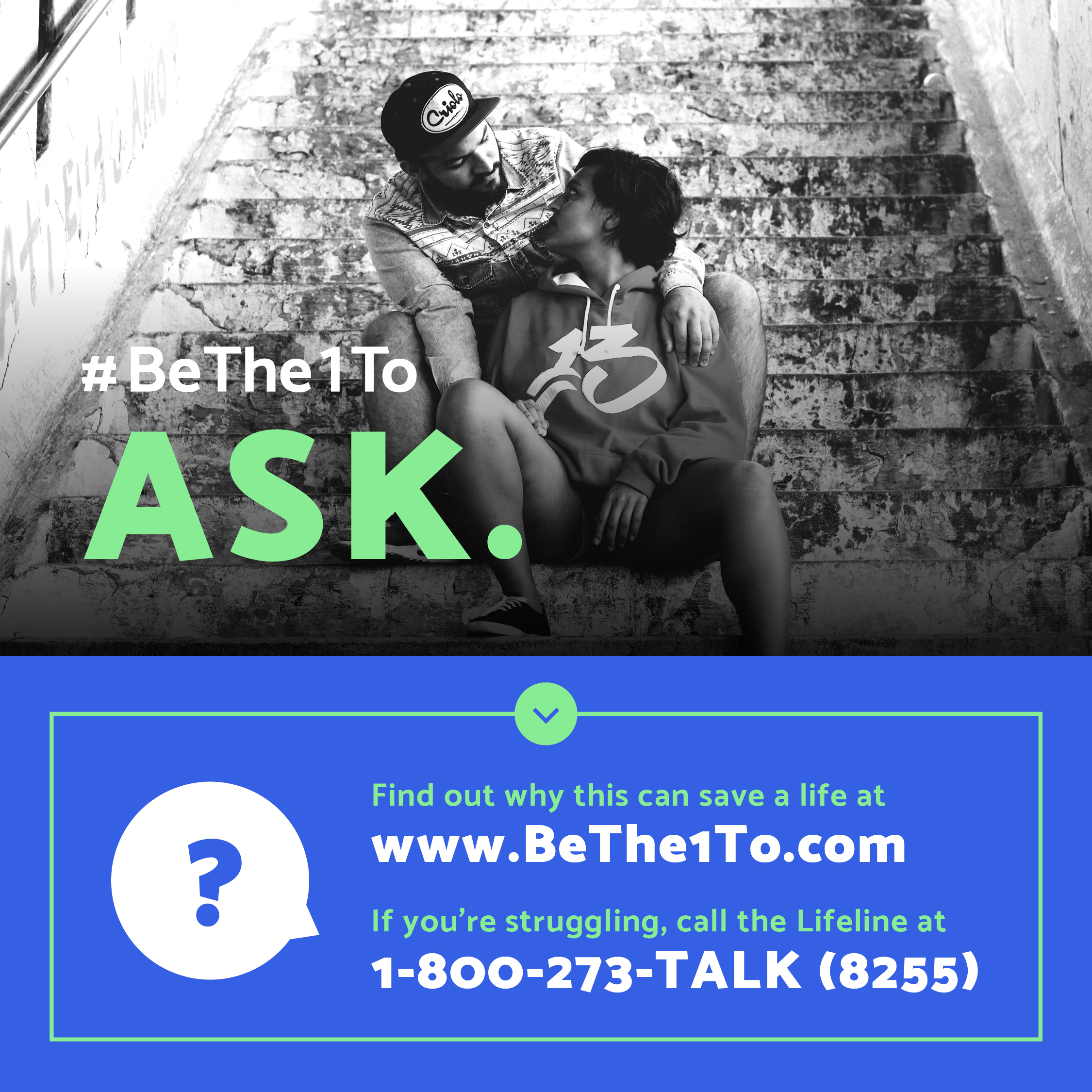 How The 5 Steps Can Help Someone Who is Suicidal - #BeThe1To